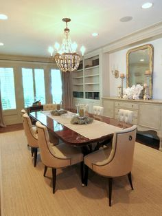 Furniture, Traditional Dining Room Decoration With Classic Dining Table And Chair Also Sideboard Buffet Ideas: Sideboard Cabinet Ideas For S...