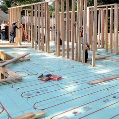 Warmboard S Is A Radiant Heating Panel And Structural Subfloor In One