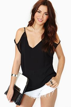 Dark Whisper Top by #NastyGal