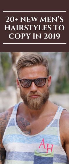 20+ New Men's Hairstyles to Copy in 2019 	 #menhair #hairstyle #men #hair #menstyle #style