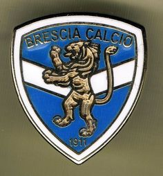 ITALY, BADGES OF FOOTBALL CLUBS - F.C. BRESCIA PIN  #Pin