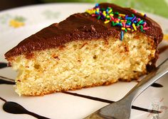 The Best Eggless Yellow Cake