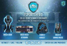 Enter This E-Blue #Gaming #Gear #Giveaway From @SocialGrowthHQ