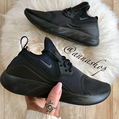 2a19db220a Nike Shoes | Nwt Nike Lunarcharge Essential Triple Black | Color: Black |  Size: 6