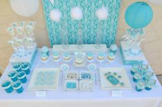 "Another shot of the ""make a wish"" dessert table"