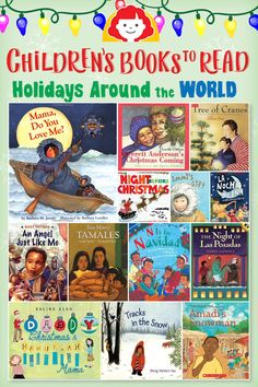 Childrens Books to Read: Holidays Around the World - Kids Audio Books - ideas of Kids Audio Books #kidsaudiobooks #audiobooks -   Check out these books as a fun way to incorporate other cultures into your holiday season! Children will love the books about winter adventures especially those that explore other cultures in a fun and colorful way. Happy holidays and happy reading! #holidaybooks #christmasbooks