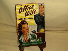OFFICE WIFE BY FAITH BALDWIN POCKET BOOK PB 150 PERMA GLOSS 1ST PRINT MAY 1942