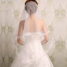 Goedkope Bridal Veils, koop rechtstreeks van Chinese leveranciers: nieuwe 1 lagen elleboog bruids bruid sluier hoofdtooi bruiloft sluiersbeschrijvinghuwelijk bruids sluierStaat: gloednieuweEen must- accessoire voor uw trouwjurk in de speciale dag!Zorgen dat u meer gl