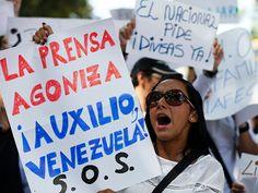 Periodistas venezolanos denuncian amenazas a la libertad de expresión