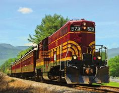www.conwayscenic.com.  The Valley Train in Bartlett.  Thanks to Debbe Hill for this photo!