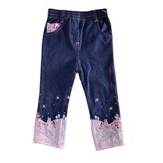 2-6T navy blue kids jeans for girls