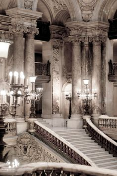 Architecture Baroque, Beautiful Architecture, Beautiful Buildings, Architecture Design, Opera House Architecture, French Chandelier, Paris Photography, Beauty Photography, French Decor