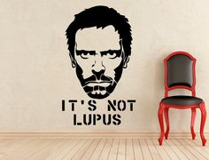 It's Not Lutus House MD Wall Vinyl Decal by HannahLarsenDesigns