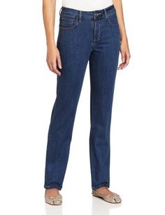 awesome Women's Petite Classic Fit Monroe Straight-Leg Jean - For Sale Check more at http://shipperscentral.com/wp/product/womens-petite-classic-fit-monroe-straight-leg-jean-for-sale-18/