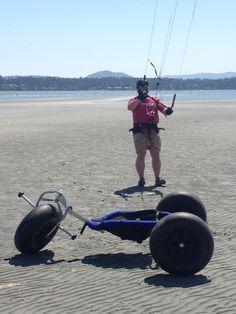kite buggy at Rathtrevor