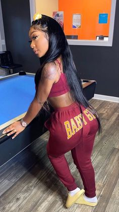 Lit Outfits, Cute Swag Outfits, Spring Outfits, Black Girl Fashion, Teen Fashion, Fashion Outfits, Pretty Black Girls, Beautiful Black Women, Crop Top Bathing Suit