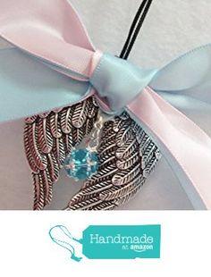 In Memory Miscarriage Ornament Angel Wings w/ Birthstone Crystal Keepsake Charm Sympathy Gift from The Creative Canvas https://www.amazon.com/dp/B01BULPR0A/ref=hnd_sw_r_pi_awdo_VtNUxbY03AYXM #handmadeatamazon