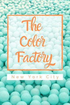 The Color Factory NYC is an interative, experiential, multi-sensory pop-up art museum located in SoHo that is fun for the whole family! Nyc With Kids, Travel With Kids, Family Travel, Canada Travel, Travel Usa, Travel Tips, Travel Destinations, Travel Ideas, Colorful Desserts