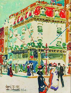 David B. Art Gallery Of Windsor, Art Gallery Of Ontario, Canadian Painters, Canadian Artists, David Milne, Edward Hopper, British Museum, Metropolitan Museum, American Art