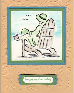 Mother's Day card using Sketches set by Stampin Up!