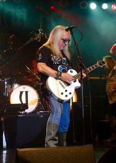 Mick Box (Uriah Heep) von George Quartz