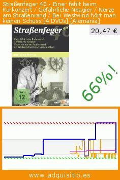 Straßenfeger 40 - Einer fehlt beim Kurkonzert / Gefährliche Neugier / Nerze am Straßenrand / Bei Westwind hört man keinen Schuss [4 DVDs] [Alemania] (DVD). Baja 66%! Precio actual 20,47 €, el precio anterior fue de 61,05 €. http://www.adquisitio.es/alive-vertrieb-und/stra%C3%9Fenfeger-40-einer