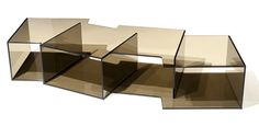 Offset low table by Sacha Lakic ROCHE BOBOIS 2011