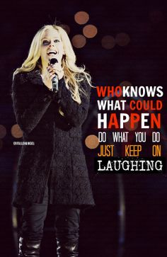 Avril Lavigne who knows lyric quote