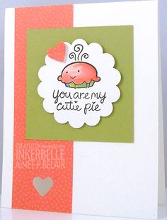 Lawn Fawn My Silly Valentine Inkerbelle - Aimée P. Belair's rubber stamping blog: