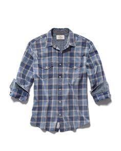 Flag & Anthem Wilmington Shirt  #MensFashion #ClassicMensShirts #Plaid #Shirts #MensWear #ModernShirts
