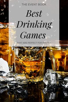 10 Best Drinking Games for Large Groups - The Event Book Team Drinking Games, Jenga Drinking Game, Outdoor Drinking Games, Christmas Drinking Games, Adult Drinking Games, Drinking Games For Parties, Adult Party Games For Large Groups, New Year's Eve Games For Adults, Funny Games For Groups