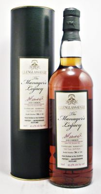 Glenglassaugh The Manager's Legacy Dod Cameron 1986 Scotch Whisky 45.3% 70cl