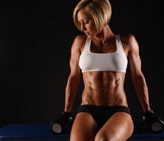 Como debe aumentar masa muscular una mujer ?