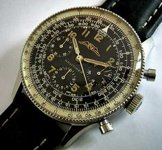 I love men's watches. Especially vintage Breitlings.