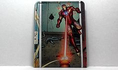 Sewn Duct Tape Comic Book Wallet  Iron Man 3 Design 3 by DuctTuff, $14.00