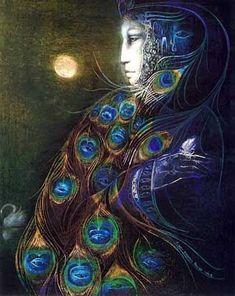 Susan Seddon Boulet - Hera Queen of the gods. Goddess of marriage and childbirth. Illustration Art Dessin, Illustrations, Fantasy Life, Fantasy Art, Totems, Art Visionnaire, Goddess Art, Star Goddess, Divine Goddess