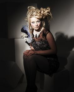2010 collection inspired by Alice in Wonderland. Hair & image by Doug Hobbs Photography by Simon Powell Make-up by Inma Azorin Clothing styled by Lou at Ruined