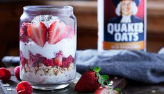 Berry Overnight Oats from Quaker®