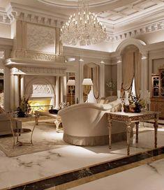 Luxury interior with terrific details.