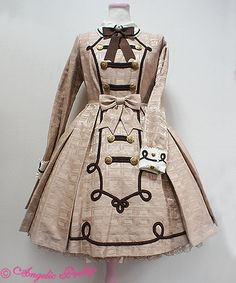 Angelic Pretty Melty Whip Chocolateワンピース