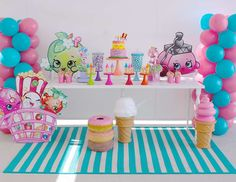 """Shopkins / Birthday """"Shopkins Shopkins Shopkins""""   Catch My Party"""