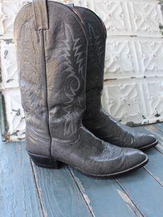 Gravel Road (M 8D) Used Cowboy Boots - Bourbon & Boots