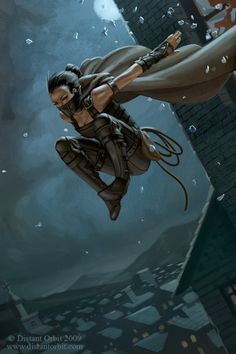 The Thief by capprotti | Digital Art / Drawings & Paintings / Fantasy | Character Thief Rogue
