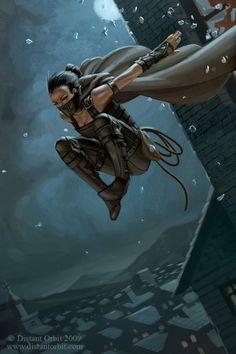 The Thief by capprotti.deviantart.com on @deviantART