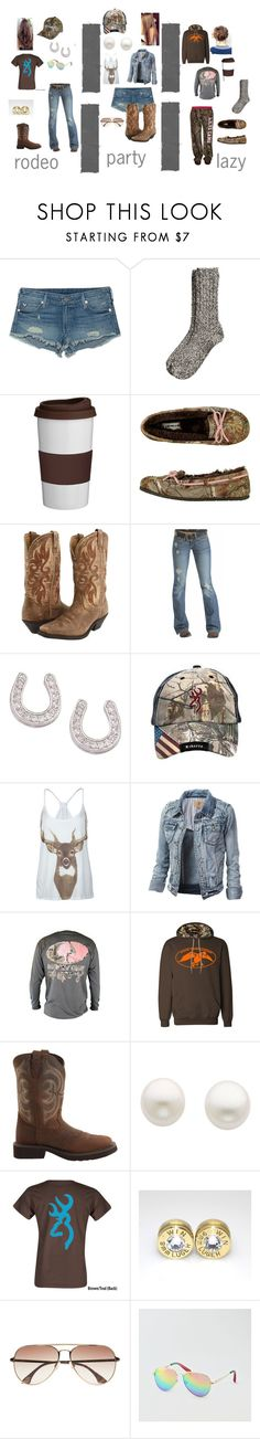 """kinds of people"" by jonellefuller on Polyvore featuring True Religion, H&M, Trudeau, Laredo, Emerson, Realtree, Full Tilt, Justin, Reeds Jewelers and Bullet"