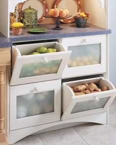 Great ideas on how to organise your home and kitchen