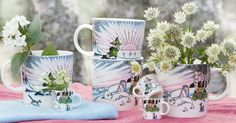 Mug #84 –Spring winter Produced: 2017 Illustrated by Tove Slotte and manufactured in Thailand by Arabia. The original artwork can...