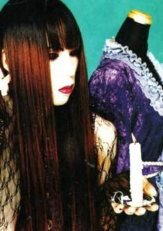 Here I mostly post old visual kei stuff. China Girl, Visual Kei, How To Look Better, Hair Makeup, Rock, Hair Styles, Anime, Inspiration, Beautiful
