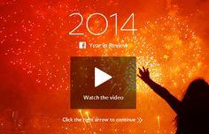 """อลังการ! """"เฟซบุ๊ก"""" เปิดหน้าเว็บ 2014 Year in Review รวมเรื่องเด่นแห่งปี 2014"""