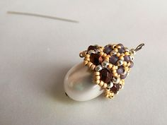 How to make beaded earrings, Master Class. #Seed #Bead #Tutorials